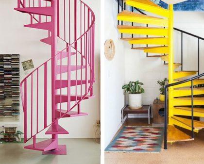 Как покрасить лестницу?